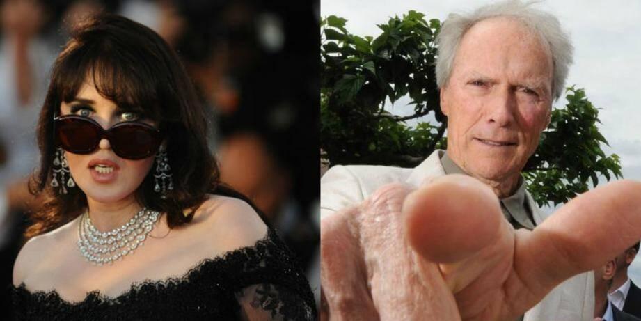Isabelle Adjani et Clint Eastwood, très capricieux lors de leur présidence au Festival.