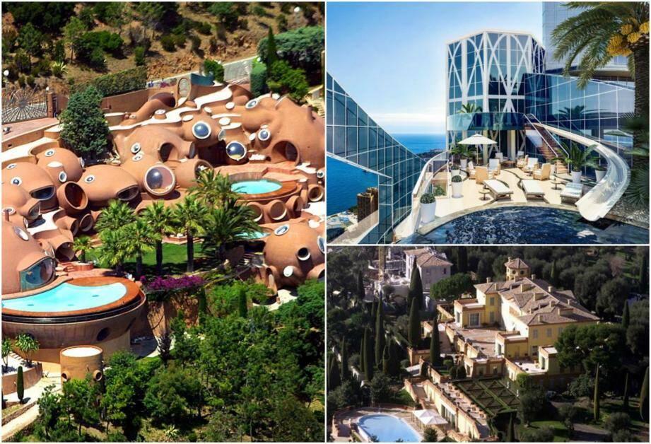 Trois joyaux de la Côte d'Azur dont les prix grimpent sur le marché de l'immobilier.
