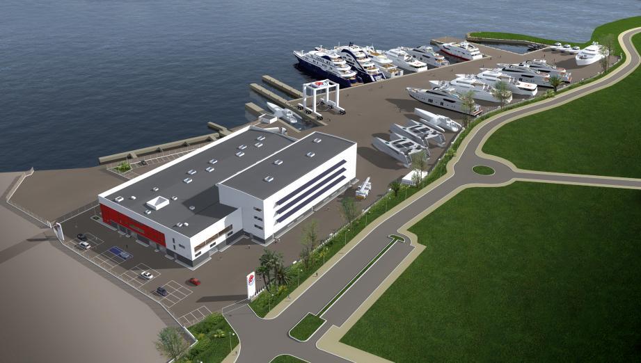 Monaco Marine investit 15 millions d'euros, et Ports Toulon Provence 5 millions, pour la conversion de la friche industrielle de Bois Sacré en une zone d'entretien, de réparation et de rénovation de yachts et de grands multicoques.