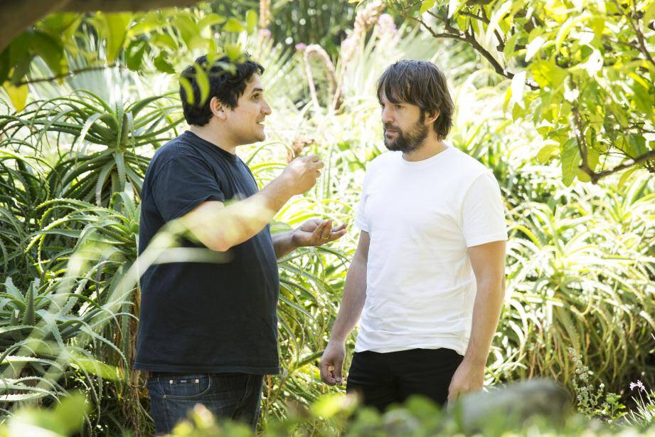 Dans les jardins du Mirazur, dernière cueillette avec Mauro Colagreco pour le chef danois, René Redzepi.
