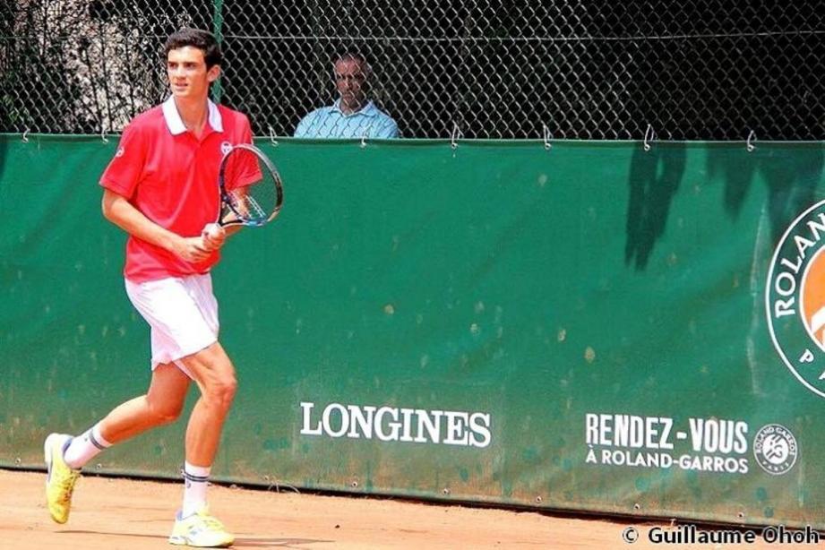 Valentin Vacherot, le jeune espoir de la Fédération monégasque de tennis joue aujourd'hui le second tour du tournoi Junior de Roland Garros. À suivre...
