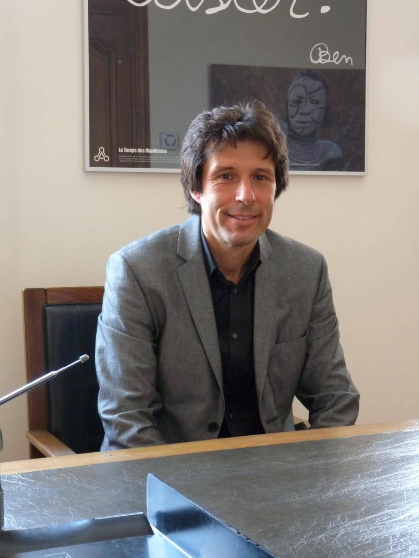 Le maire Pierre Aschieri et son principal opposant Christophe Chalier.