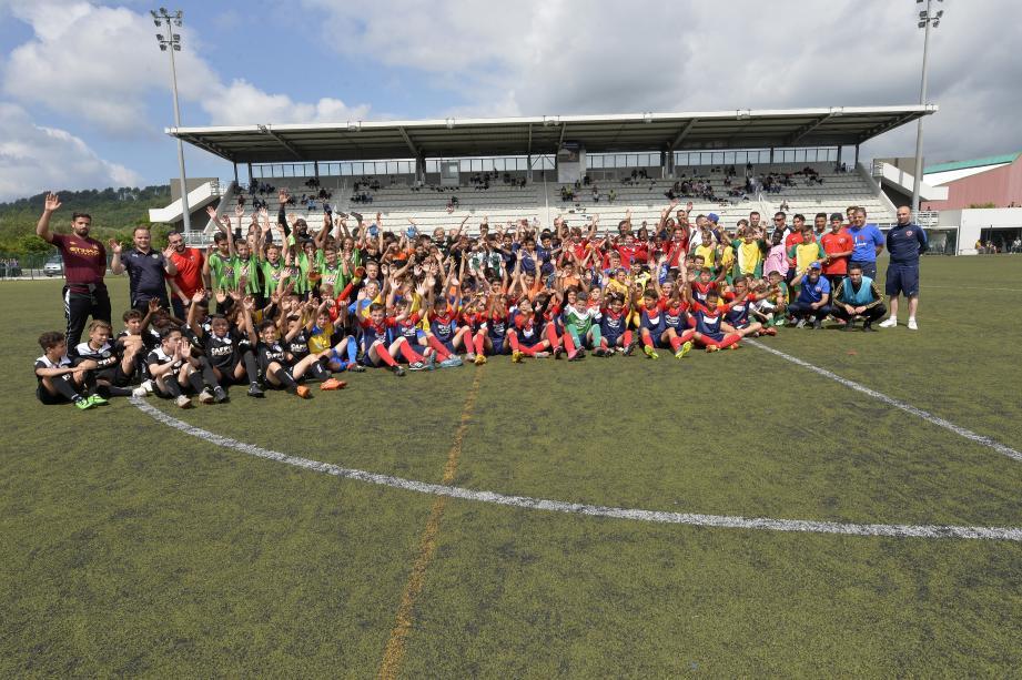 Près de 150 joueurs dans la catégorie U13 ont évolué hier pour la fin du tournoi Jean-Pierre-Ellena à La Paoute.