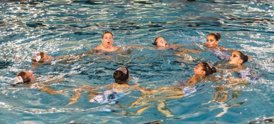 130 nageuses antiboises ont participé au gala de fin d'année du CN Antibes, samedi soir et dimanche après-midi.
