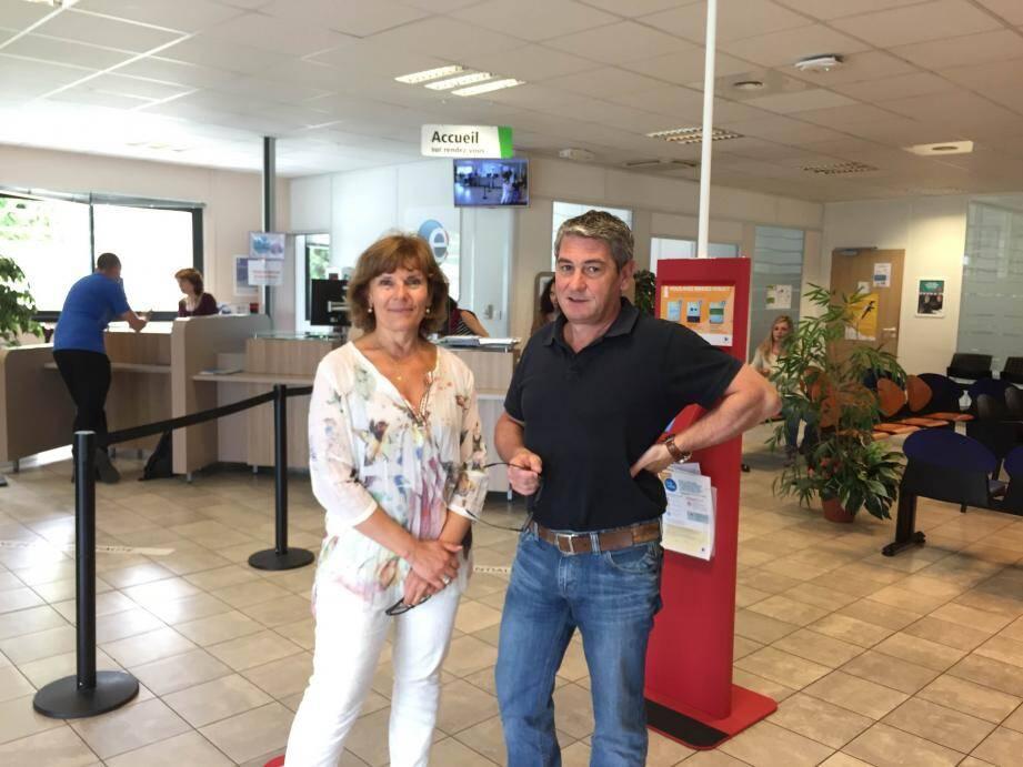 La force du secteur grassois ? Le partenariat fort entre Pôle Emploi, dont l'agence est dirigée par Arlette Villani, et la Mission locale, dont le directeur est Jean-Yves Gilquin.