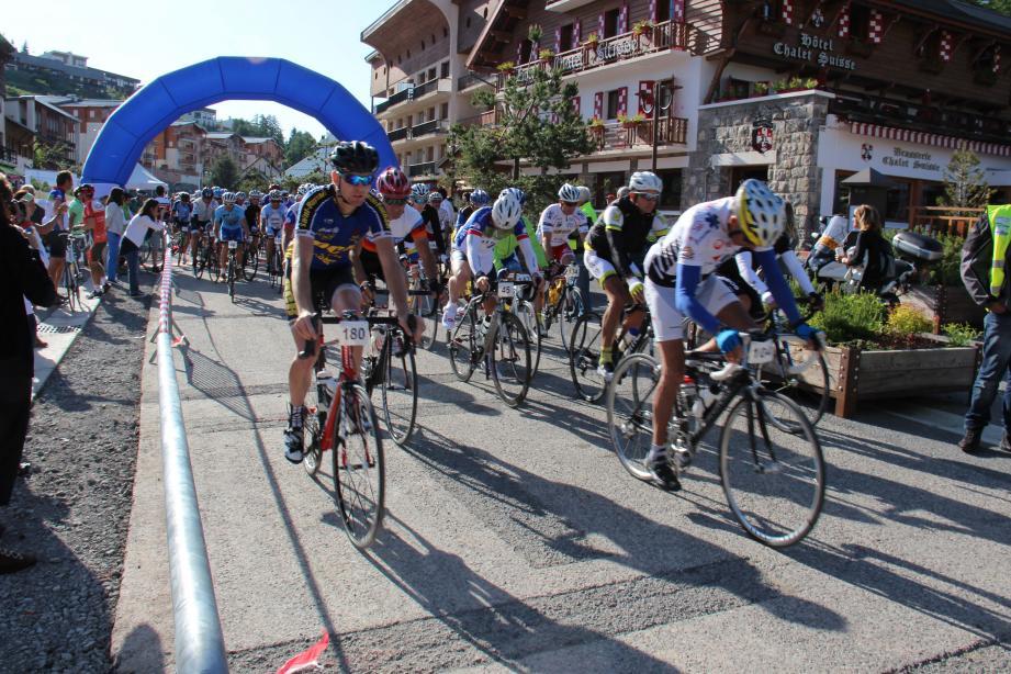 La Cyclovalberg représente un moment fort du cyclisme de montagne.