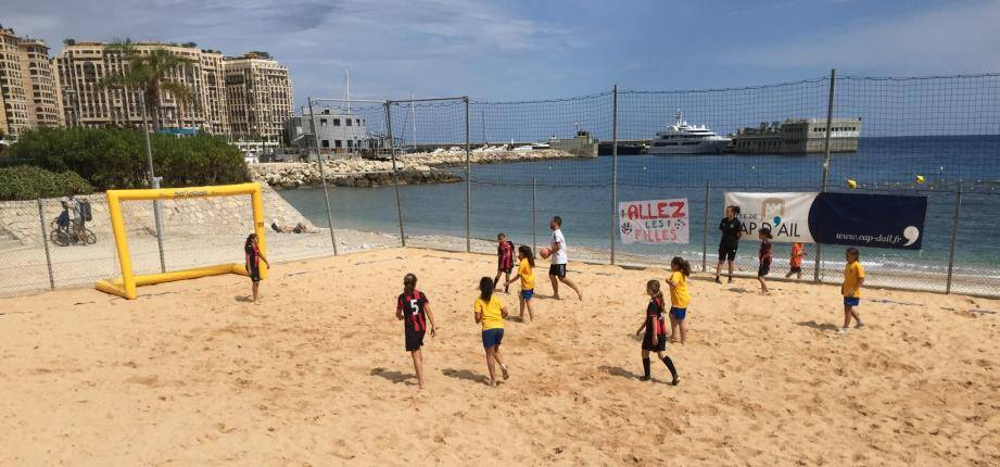 Des parties acharnées ont opposé les dix équipes engagées dont trois représentaient la ville de Cap d'Ail.