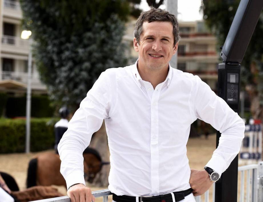 Guillaume Canet participe aux épreuves avec deux chevaux. Hier, il s'était classé neuvième.