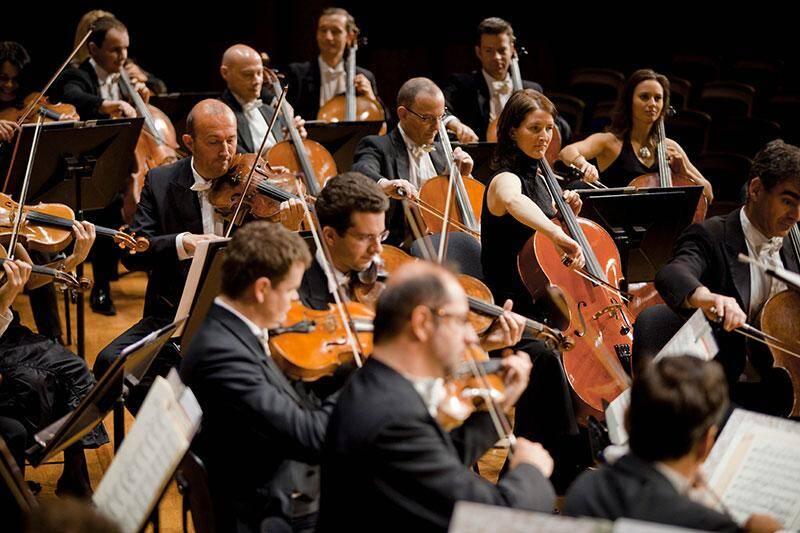 Le ciné-concert est un hommage au 40e anniversaire de la mort de Fritz Lang. (©OPMC/ Marco Borgreve)