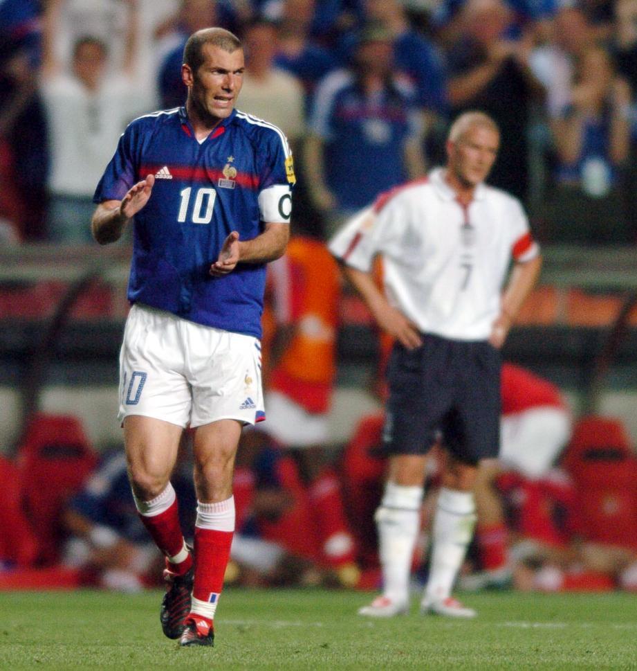 Zidane, capitaine courage.
