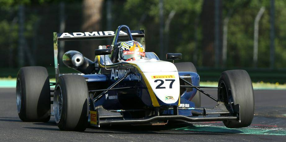 Christophe Vernet, cette saison, au volant de sa Dallara de l'écurie Corbetta Competizioni.