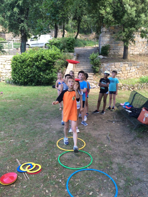 24 classes de CE2 de Grasse vont participer aux jeux du sport cette semaine.