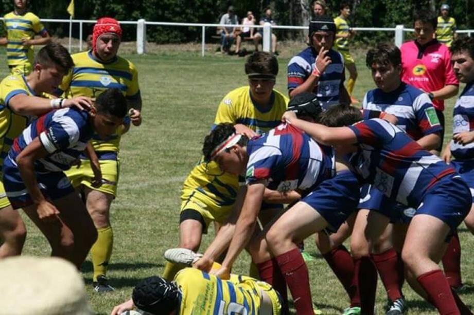 Les Grassois ont échappé la qualification pour la finale dans les dernières minutes 34-35.(DR )