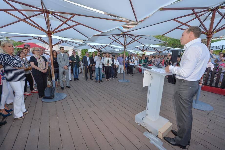 Sur la plage du Larvotto, le groupe politique avait convié ses sympathisants pour une série de discours donnant le ton de l'ambiance actuelle au sein de la Haute assemblée.