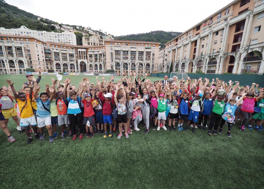 145 enfants se sont rencontrés, hier, lors d'un tournoi de Futsal en plein air organisé au Stade Bob Remond.