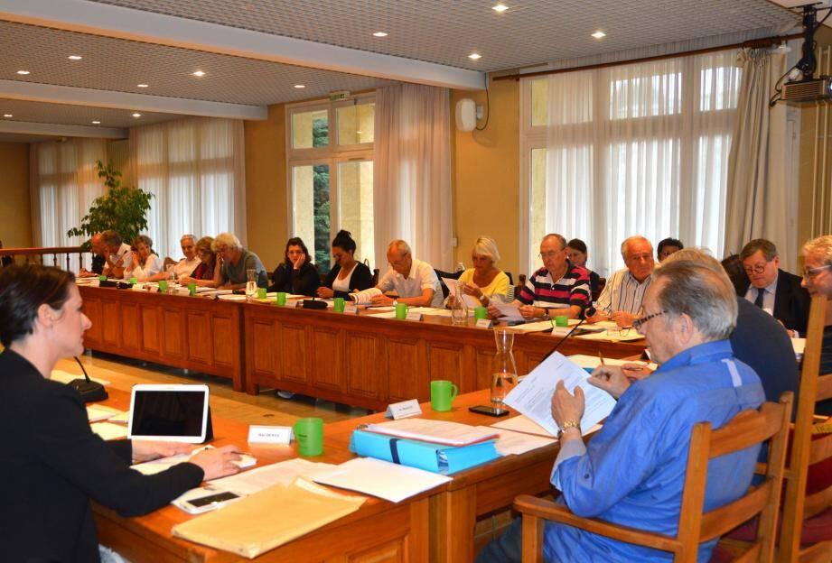 Si un certain nombre de dossiers sont passés à l'unanimité, d'autres ont été l'objet de longs débats et de votes négatifs ou d'abstentions de la part des membres du conseil qui sont en opposition.