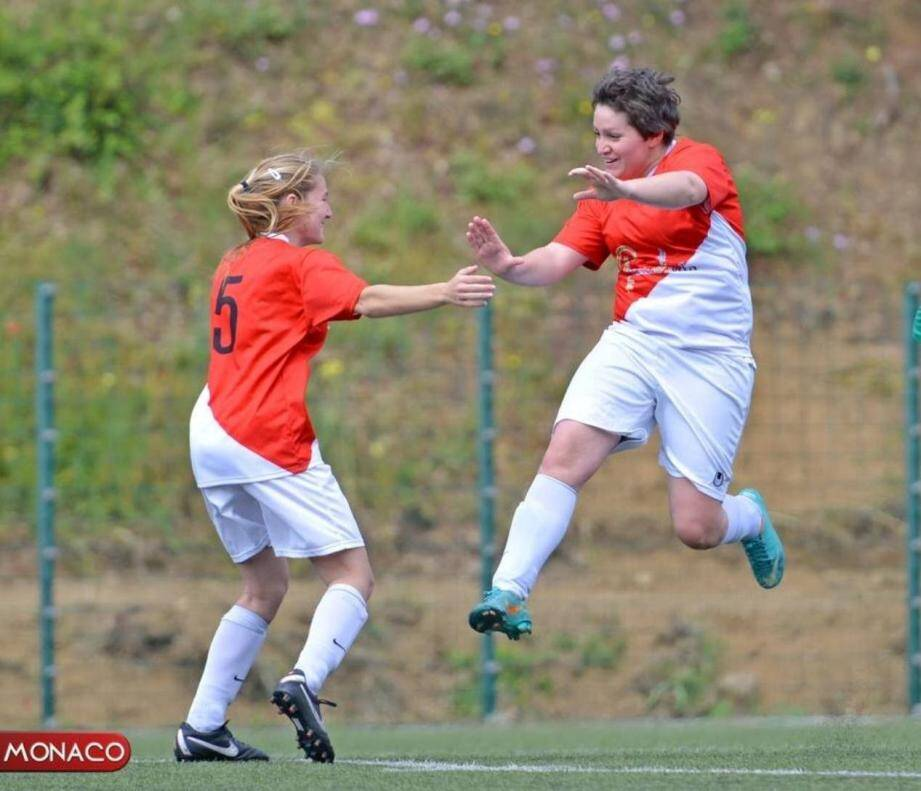 L'ASM football féminin vient de décrocher sa place en division d'honneur.(DR)