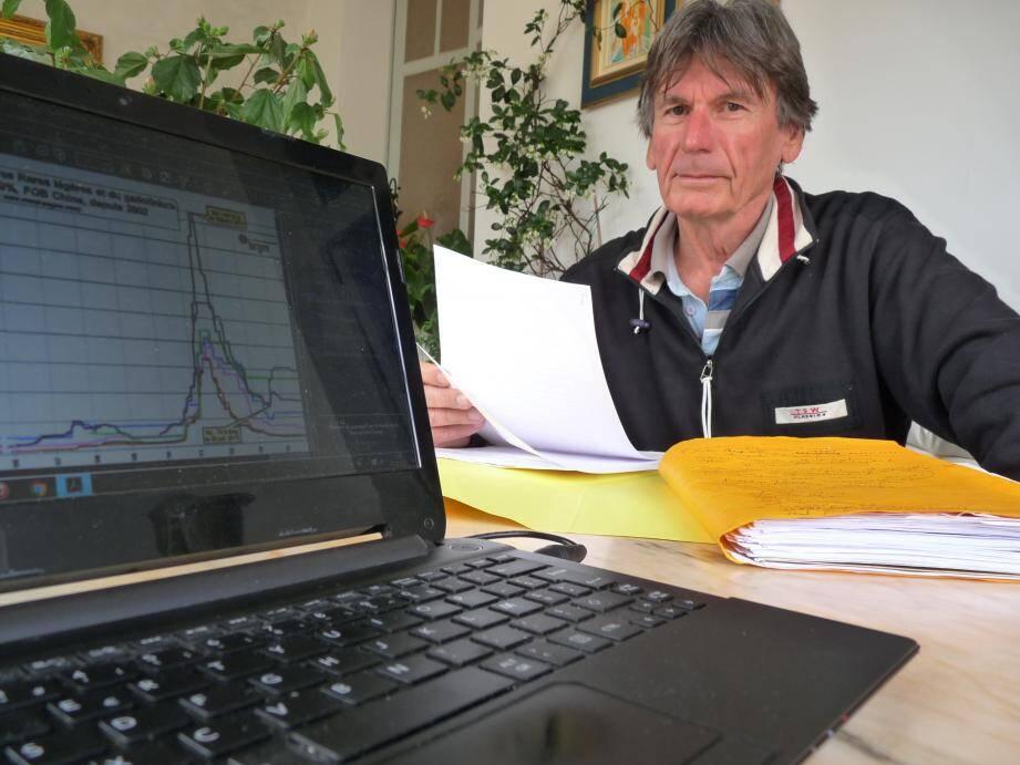 Depuis Hyères, Claude Gadet cherche à fédérer les victimes et à se défendre. Lui comme d'autres, pensent qu'ils ont perdu gros. Le préjudice moyen est évalué à 70.000€.