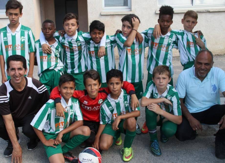 Le tournoi a regroupé près de 200 enfants issus des clubs des Alpes-Maritimes.