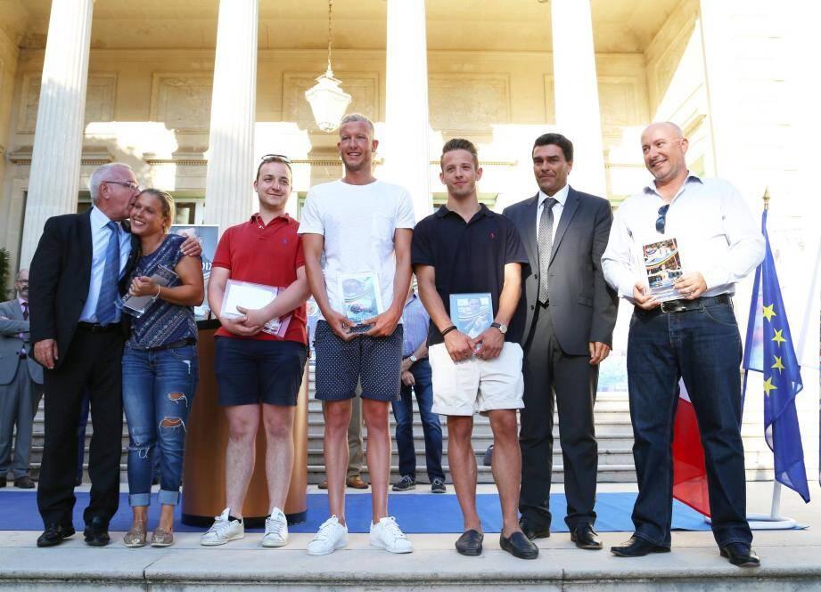 Plus de 350 Antibois ont été récompensés par la Ville, hier, à la villa Eilenroc.
