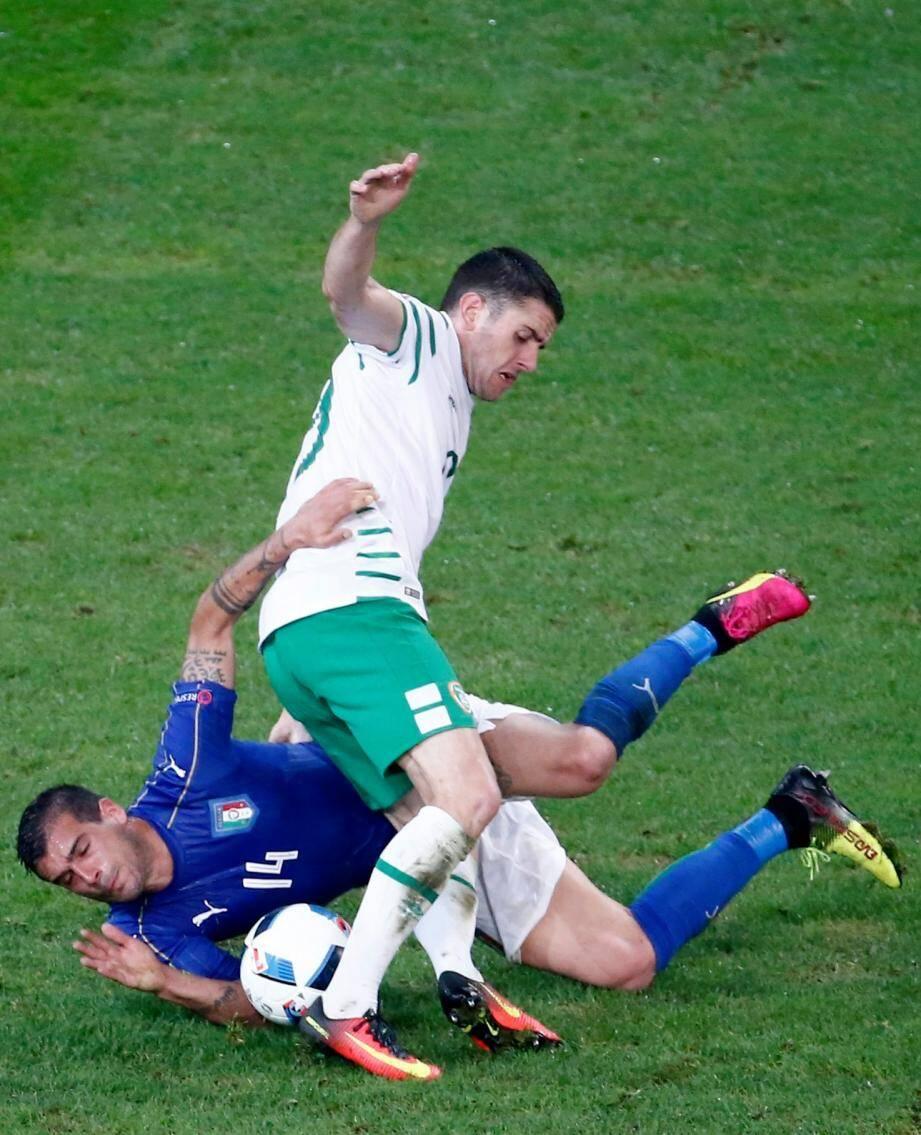 Le but synonyme de qualification est signé Robbie Brady.