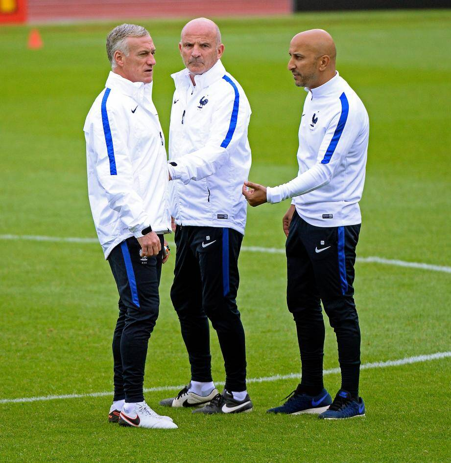 Didier Deschamps et Guy Stéphan savent qu'ils peuvent compter sur Bachir.
