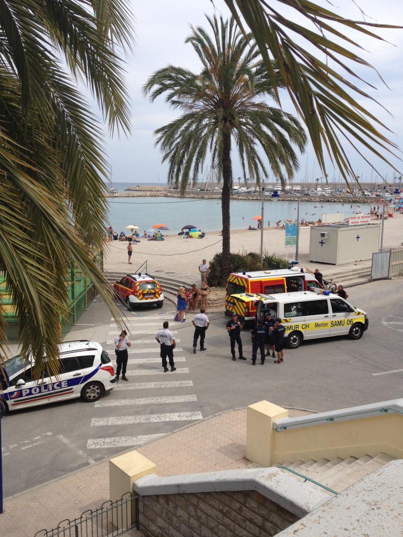 Aux Sablettes deux baigneuses sont allées au secours d'un touriste belge en train de se noyer