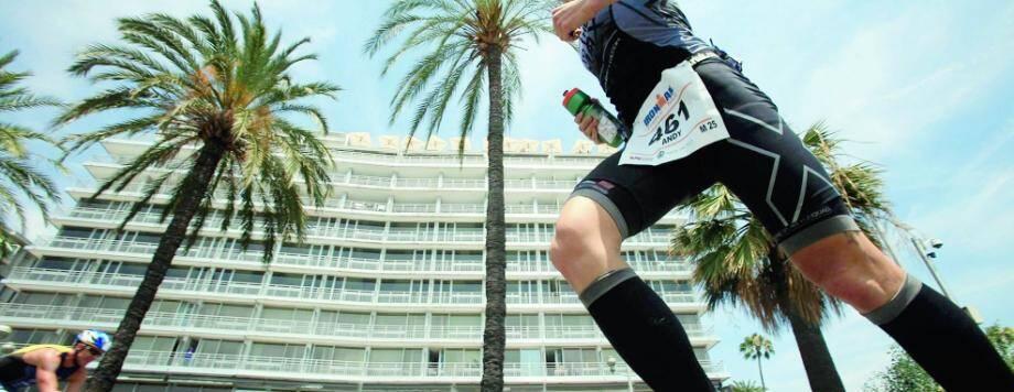 L'Ironman de Nice se court dimanche dans les Alpes-Maritimes.