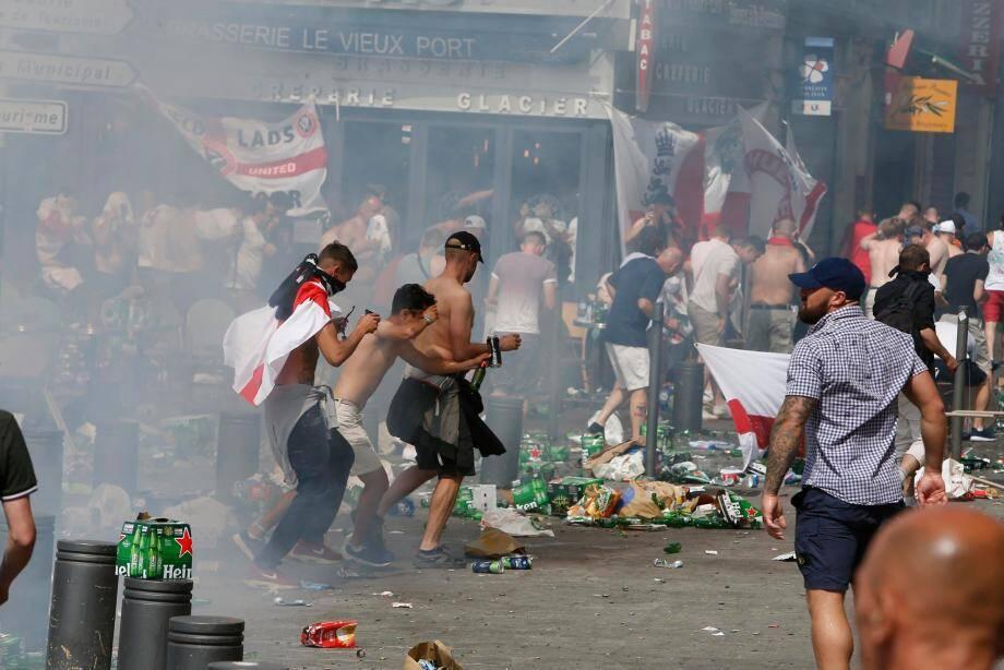 A Marseille, d'importants débordements avaient eu lieu en marge du match Angleterre-Russie, samedi 11 juin.