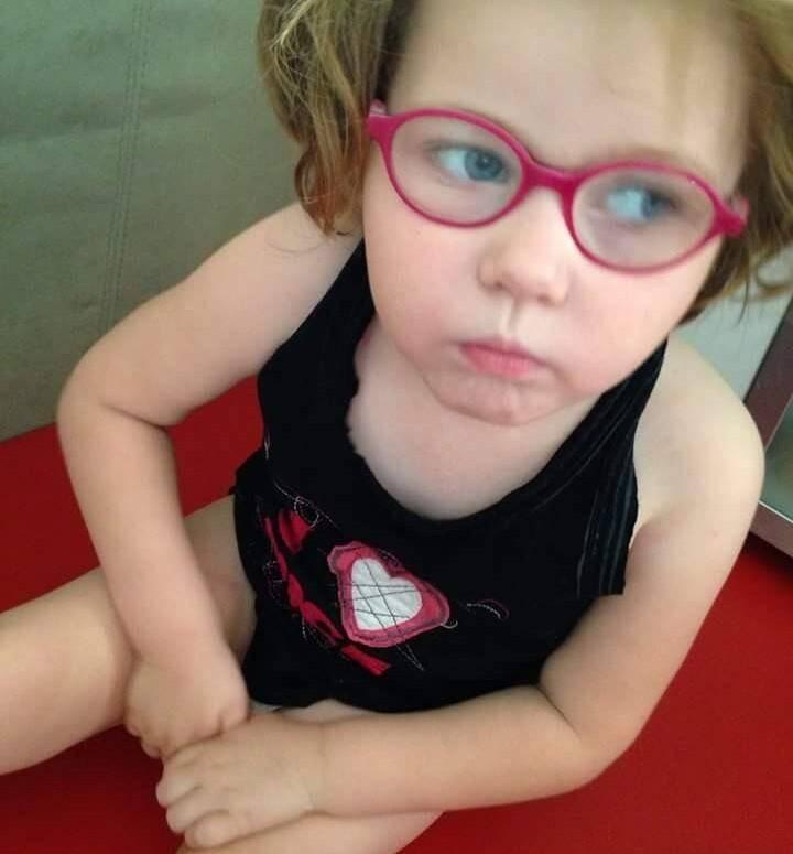 Lys, 5 ans se bat contre la maladie depuis sa naissance.