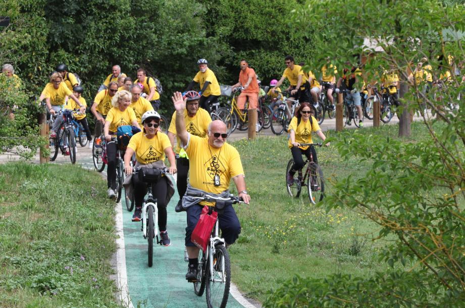 Tous à vélo - Villeneuve Loubet