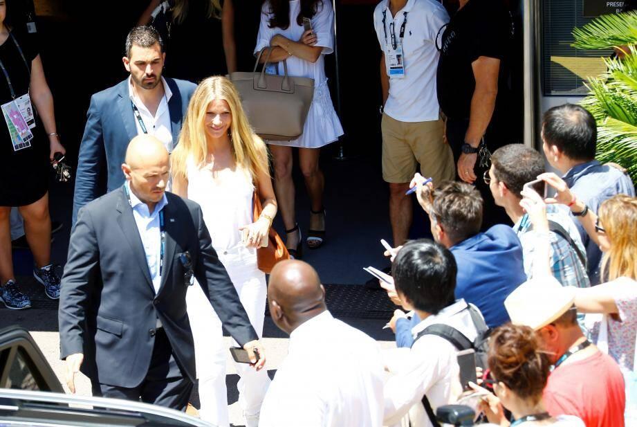 Gwyneth Paltrow, mercredi 22 juin à Cannes.
