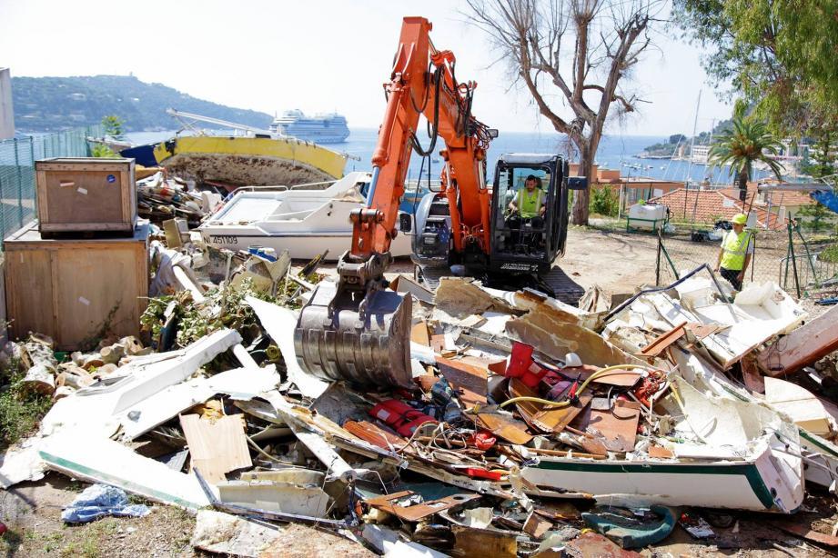 Onze épaves de bateaux font l'objet d'une mesure de destruction.