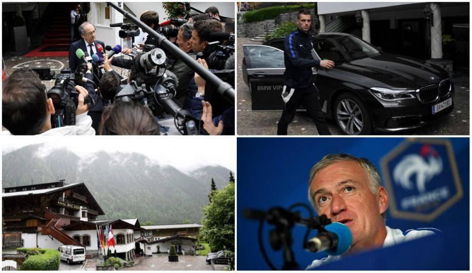 Les nuages s'accumulent en Autriche au-dessus de Deschamps et des Bleus. Noël Le Graët s'en explique devant les caméras tandis que Morgan Schneiderlin a rallié le groupe à Neustift.