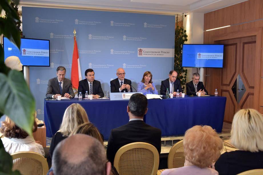 Serge Telle, le chef du gouvernement princier, promet un «État fort» pour accompagner les évolutions du pays face à la mondialisation.