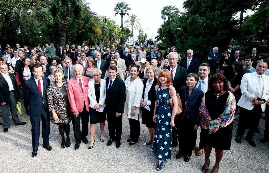Le Centre culturel franco-allemand a été inauguré hier soir à la Villa Masséna.