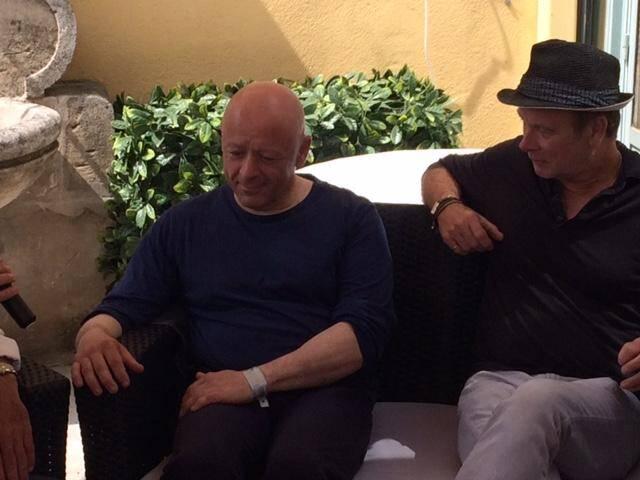 Franck Dubosc et Thierry Marx.
