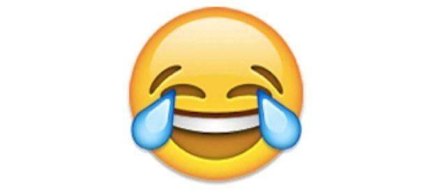 "L'emoji ""joy""."
