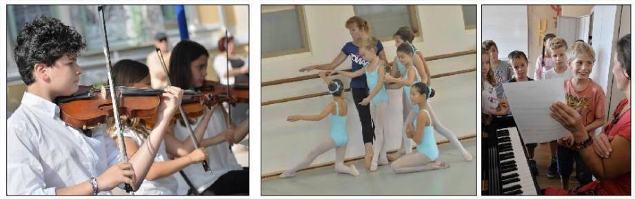 Musique, danse, art dramatique... Le conservatoire municipal de Menton ouvre ses portes toute la semaine prochaine pour vous aider à faire votre choix dans le large éventail des disciplines artistiques qui y sont enseignées.