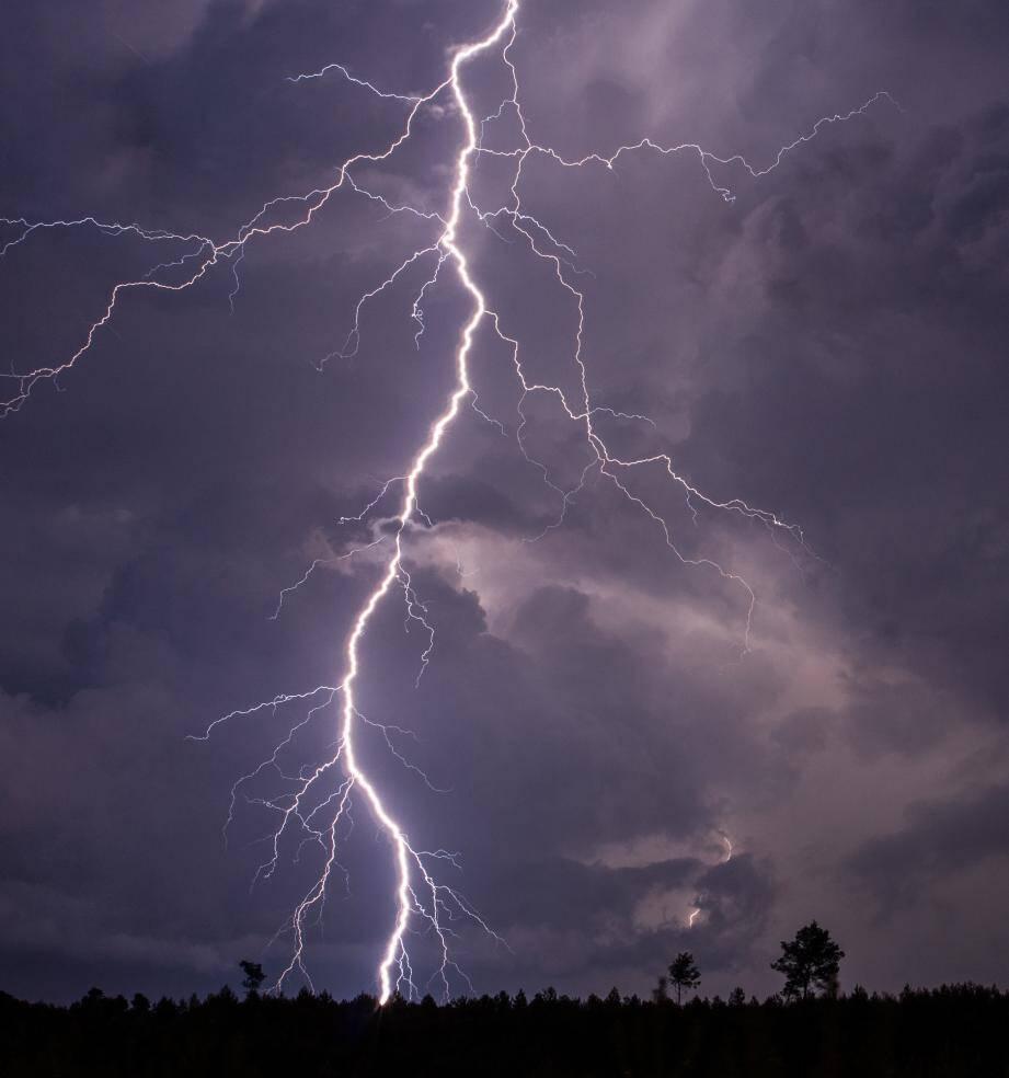 De violents orages sont attendus ce mercredi après-midi dans le Var