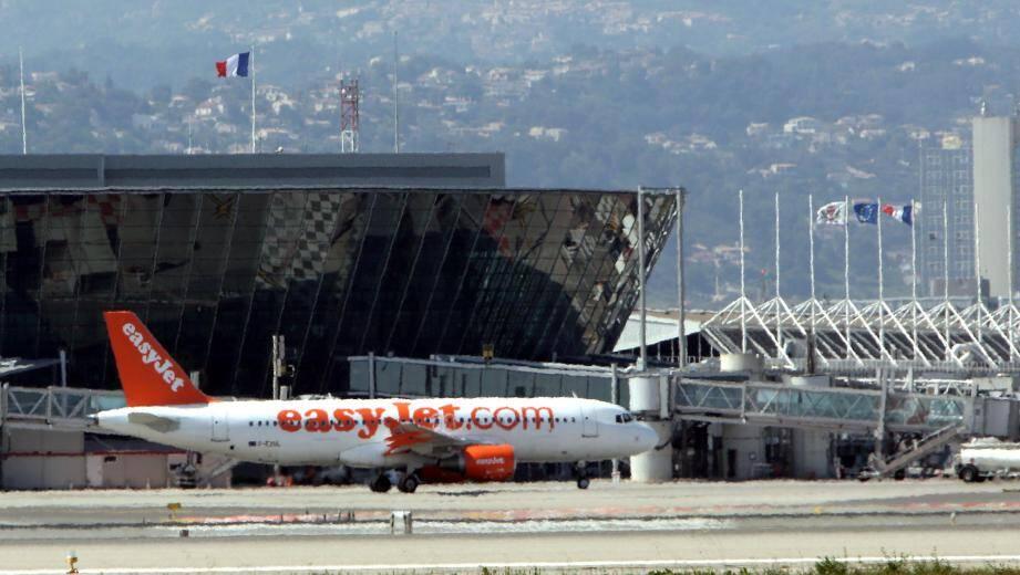 Un avion easyJet à l'aéroport de Nice (image d'illustration).