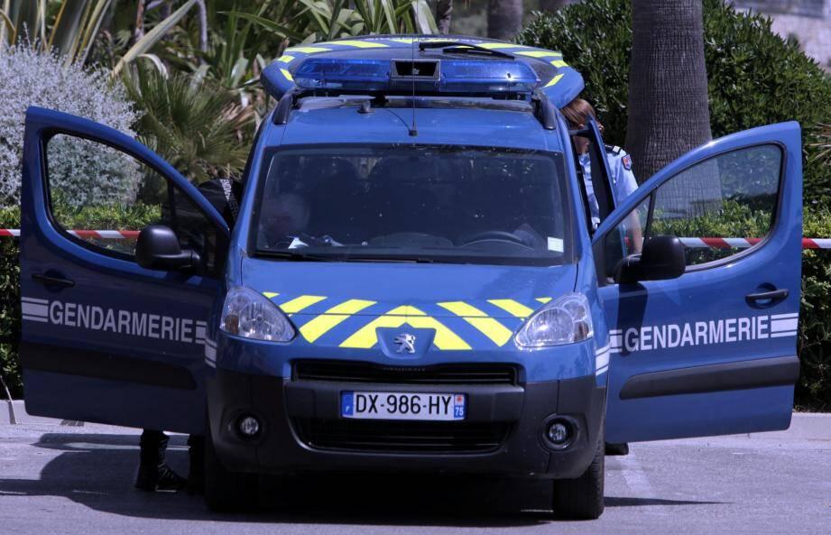 La gendarmerie est intervenue