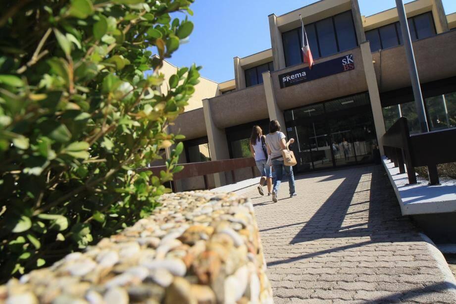 Le campus sophipolitain de Skema Business School.