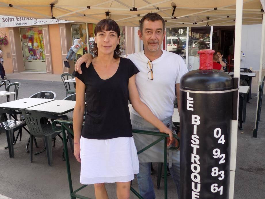Béatrice et Philippe ont tenté l'aventure de l'ouverture d'un restaurant dans le haut-pays.