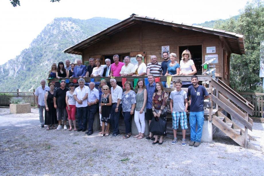 Tous les représentants de l'ancien canton aux 10-Sourires étaient présents.