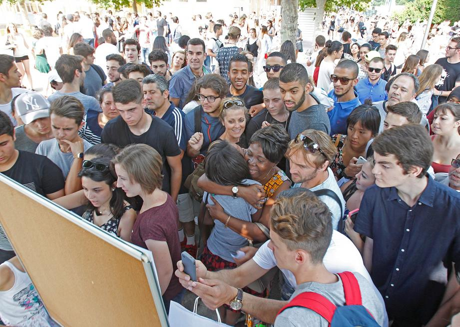 Les résultats définitifs sont tombés, hier. Pour la première fois, l'académie se hisse au niveau record avec 89, 3 % de réussite contre 88,5 % au niveau national.