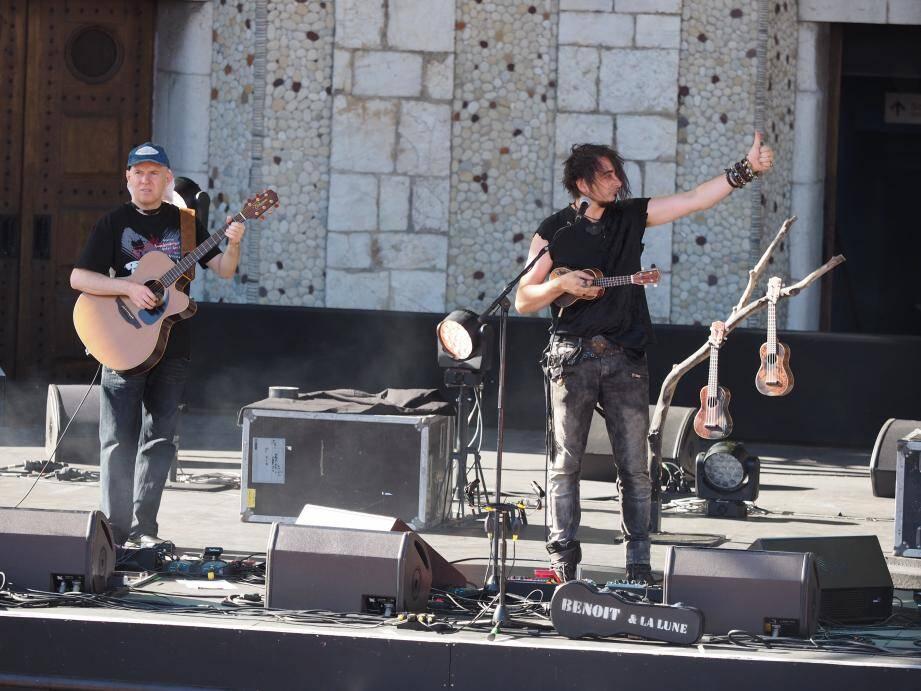 Les répétitions de Benoît et La Lune ont donné le La pour lancer la série de concerts au programme à Nice.