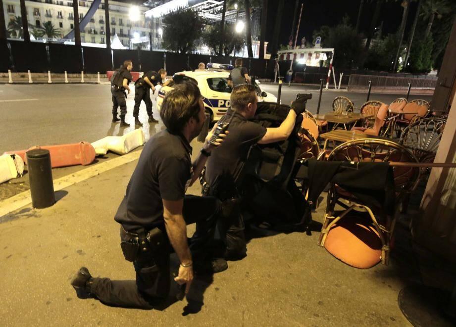 Comme tous les autres services de secours, la Sécurité civile était mobilisée pour porter assistance aux blessés.