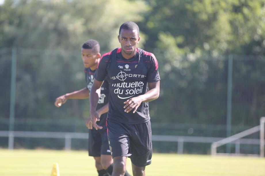 Toute la détermination de Ricardo, qui, touché légèrement à la cheville en fin de stage, devrait être rétabli pour le prochain match amical face à l'Etoile du Sahel.