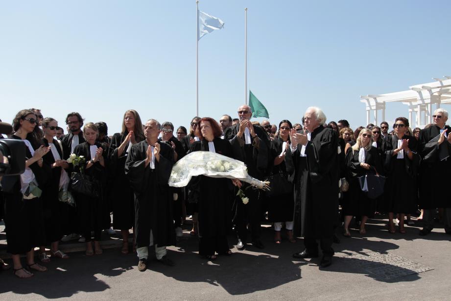 Une grande émotion a envahi hier les confrères de Myriam, décédée avec sa maman Léa, le 14-juillet dernier.